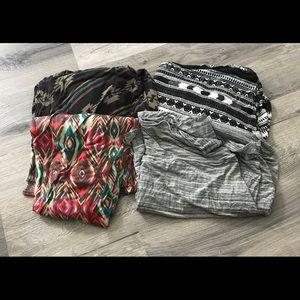 Maxi skirt bundle!!! 4 mossimo xxl maxis!